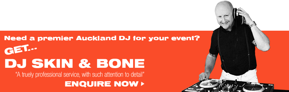Premier Auckland DJ - Enquire Now